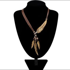 Jewelry - Alloy Feather Necklace